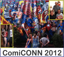 ComiCONN 2012 on Wonder Woman Network