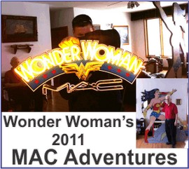MAC Wonder Woman Makeup