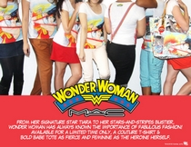 MAC Wonder Woman t-shirts and bags