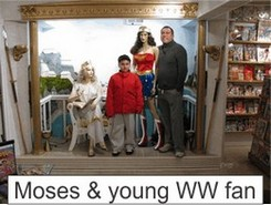 Moses in the Marston Family Wonder Woman Museum