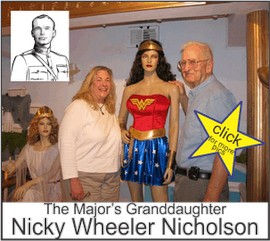 Nicky Wheeler Nicholson in the Marston Family Wonder Woman Museum